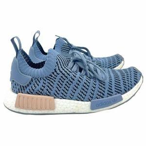 Adidas NMD R1 STLT Raw Steel Sneakers Blue Pink 8